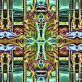 Carousel Kaleidoscope by Ericamaxine Price