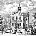 Carpenters Hall, 1855 by Granger