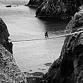 Carrick A Rede Rope Bridge County Antrim Ireland by Joe Fox
