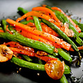 Carrot And Green Beans Stir Fry by Iris Filson