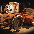 Cars Land Cow Tractor by Heidi Smith