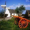 Cart On The Roadside Of A Village, The by The Irish Image Collection