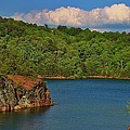 Carters Lake In Georgia by Marybeth Burke