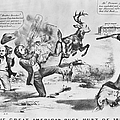 Cartoon: Election Of 1856 by Granger