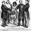 Cartoon: Native Americans, 1876 by Granger