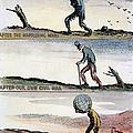 Cartoon: World Wars, 1932 by Granger