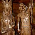 Carved American Indians by LeeAnn McLaneGoetz McLaneGoetzStudioLLCcom