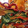 Carved Dragon by Susan Herber