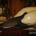 Carved Goose by Susan Herber