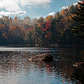 Cary Lake In The Adirondacks by David Patterson