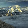Cascade Mountain Banff by Diane Dugas