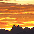 Cascade Mountains Sunrise 1 by Carol  Eliassen
