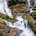 Cascades At Mingo Falls by Lynn Bauer