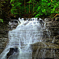 Cascading Falls by Frozen in Time Fine Art Photography