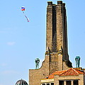 Casino Building And Kite by Catherine Conroy