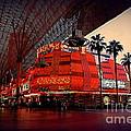 Casino Fremont Street Las Vegas by Susanne Van Hulst