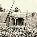 Casita In Taos Nm Old Print by Charles Muhle