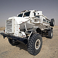 Casper Armored Vehicle Sits by Terry Moore