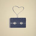 Cassette Tape In Heart by Andrea Carolina Photography