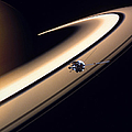 Cassini Spacecraft by Gil Babin and Photo Researchers