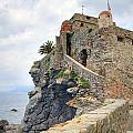 Castello Della Dragonara In Camogli by Joana Kruse