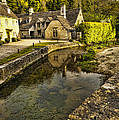 Castle Combe Bridgeside by Jon Berghoff