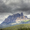 Castle Mountain 2011 by Monte Arnold