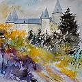 Castle Of Veves Belgium by Pol Ledent