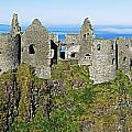Castle On A Cliff, Dunluce Castle by The Irish Image Collection