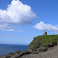 Castle On The Cliffs Of Moher by Bill Cannon