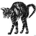Cat-artwork-prints-2 by Gordon Punt