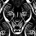 Cat Mask by Barbara Moignard
