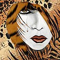 Cat Woman 3 by Barbie Guitard