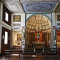Cataldo Mission Altar And Interior by Daniel Hagerman