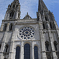 Cathedral At Chartres by Eric Tressler