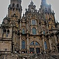 Cathedral At Santiago De Compostela by Eric Tressler