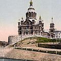 Cathedral In Helsinki Finland - Ca 1900 by International  Images