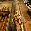Cathedral Statue Milan Italy by Mike Nellums