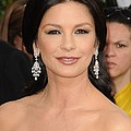 Catherine Zeta-jones Wearing Van Cleef by Everett