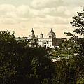 Catholic Church In Kiev - Ukraine - Ca 1900 by International  Images