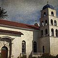 Catholic Church Old Town San Diego by Linda Dunn