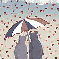 Cats In Love by Anne Gifford