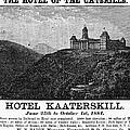 Catskills Hotel, 1884 by Granger