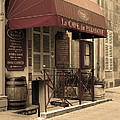 Cave Du Paradoxe Wine Shop In Beaune France by Greg Matchick