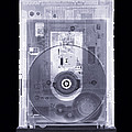 Cd Drive, Simulated X-ray by Mark Sykes