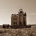 Cedar Island Lighthouse by Skip Willits