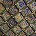 Ceiling Tiles In The Forbidden City by Sam Bloomberg-rissman