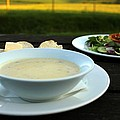 Celery Root Soup And Salad by Rdr Creative
