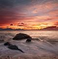 Celtic Sunset by Beverly Cash