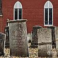 Cemetery And Church by John Greim